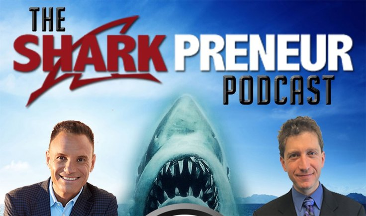 Sharkpreneur podcast logo